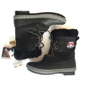 Pajar Size 11 Synthetic Fur Lined Winter Boots